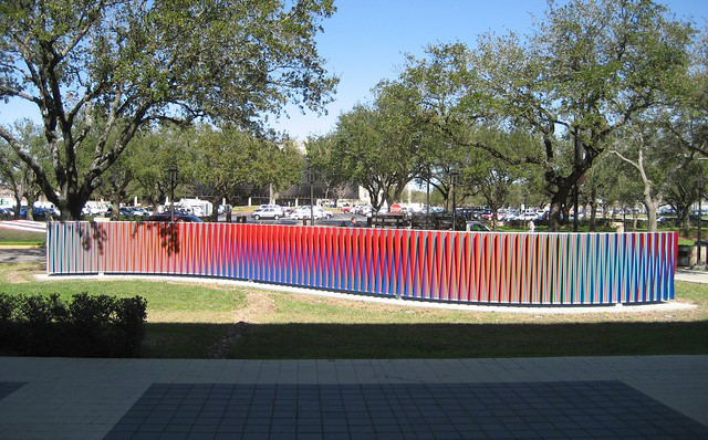 Carlos_Cruz_Diez_Double Physichromie, 2009-at-University-of-Houston