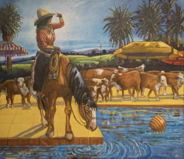 Anne Coe, Suburban Ranchette, the New Watering Hole