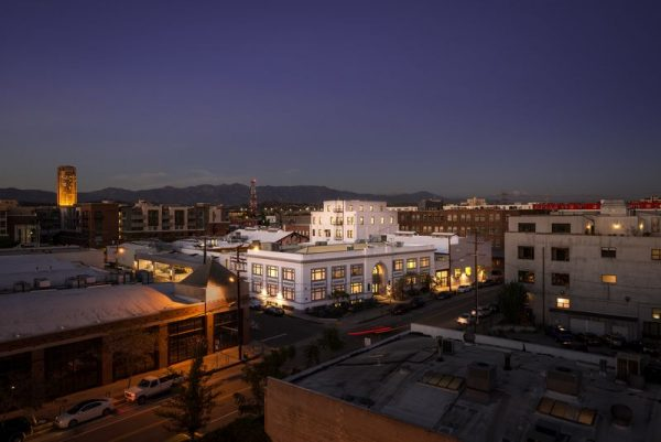 Hauser and Wirth Gallery in Los Angeles California