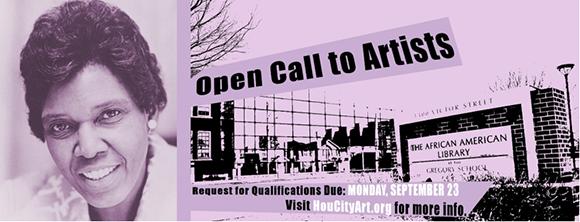 National Artist Open Call for Public Artwork Honoring Houston's