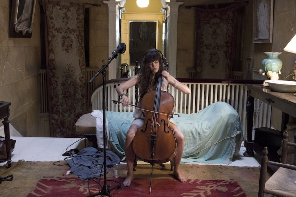 Ragnar Kjartansson's The Visitors (2012), on view at the Museum of Fine Arts, Houston