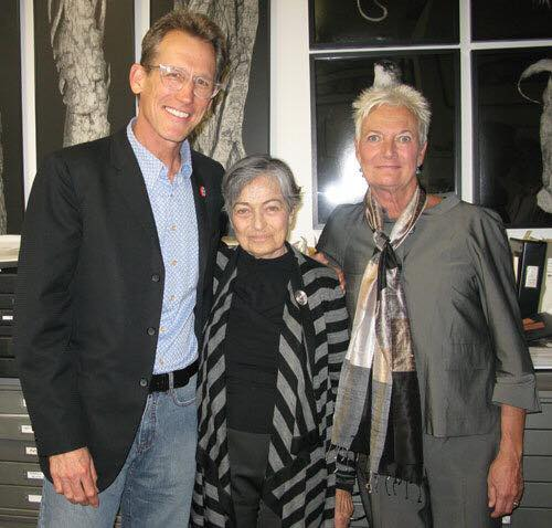Richard-Doherty-right-and-Kenda-North-with-Barbara-Crane-middle-in-2009