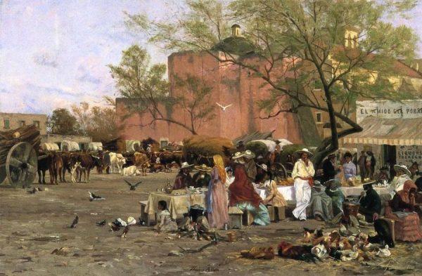 Thomas Allen, Market Plaza, 1878-79