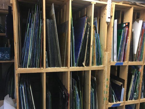 Inside Grojean Glass Studio