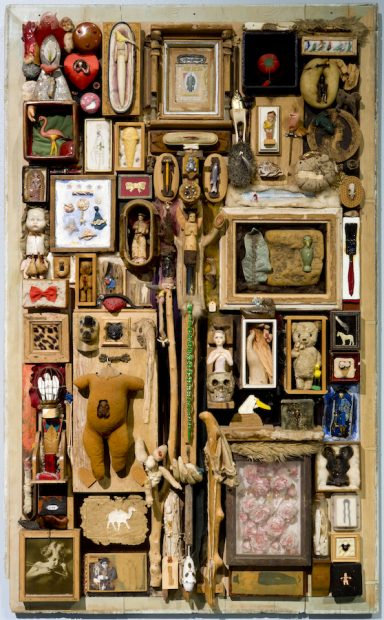 Dave McManaway, Jomo Board, 1995, mixed media work