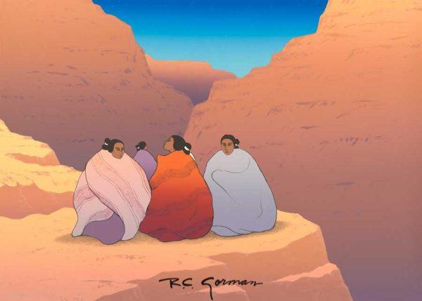 R.C. Gorman, Twilight at the Grand Canyon