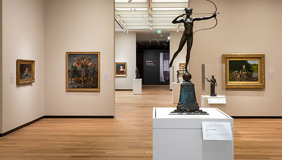 A-gallery-at-Amon-Carter-Museum-of American-Art