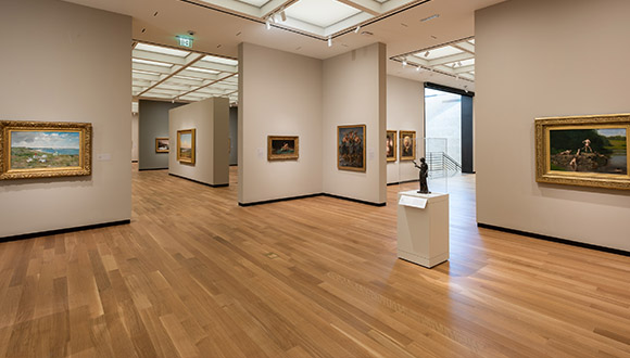 A-renovated-gallery-at-Amon-carter-museum