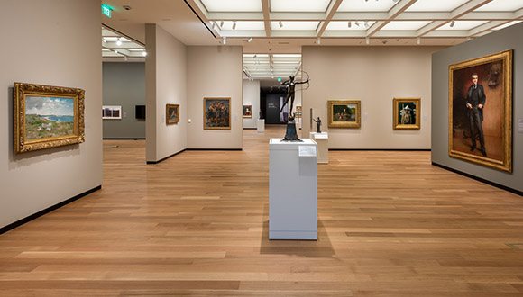 After-view-of-gallery-at-Amon-Carter-Museum-of American-Art