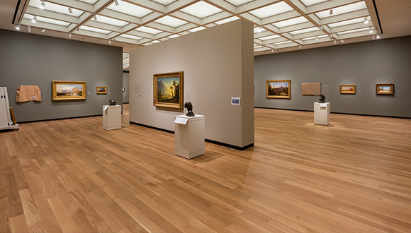 After-view-of-upstairs-gallery-at-Amon-Carter-Museum-of American-Art-b