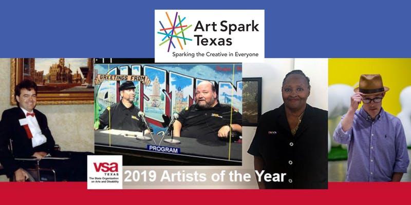Art Spark Texas Annual Awards Announced