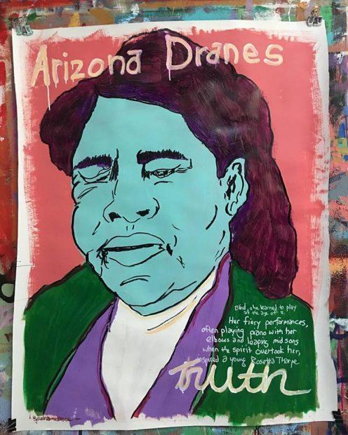Tim Kerr, Arizona Dranes.