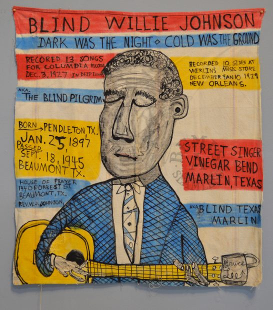 Bruce Lee Webb, Blind Willie Johnson.