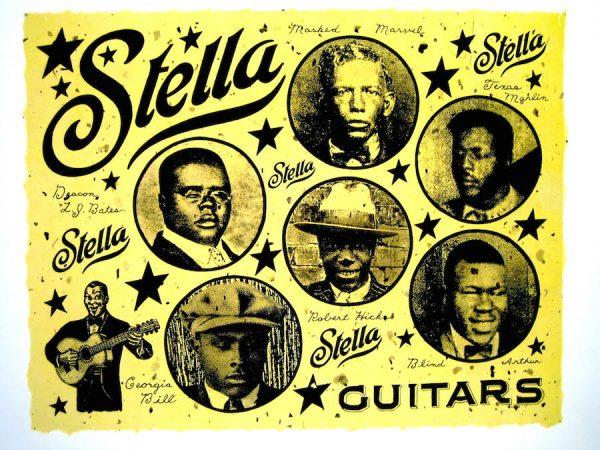 Dan Williams, Stella Guitars.