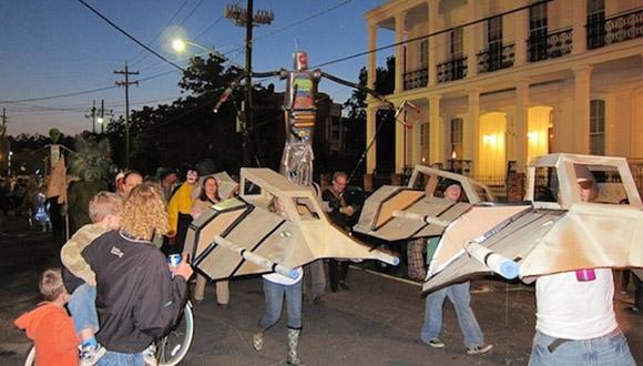 Cardboard-art-parade-new-orleans