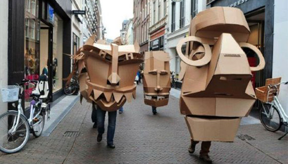 Cardboard-puppet heads-earth-day-via-eart-day-2017-pintrest