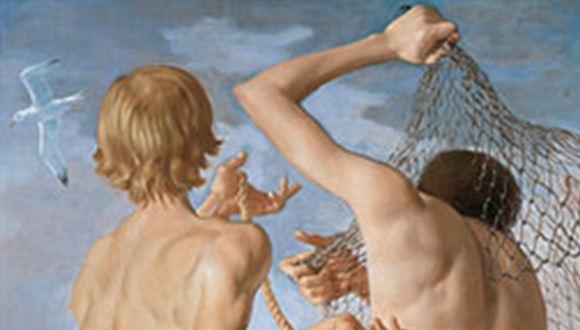 Detail-from-John-Currin-My-Life-as-a-Man-at-Dallas-Contemporary-September-14-2019