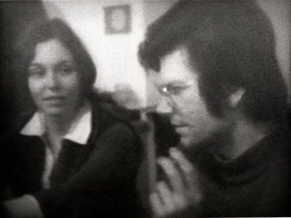 """Still from Holt and Smithson's """"East Coast, West Coast"""" (1969)"""