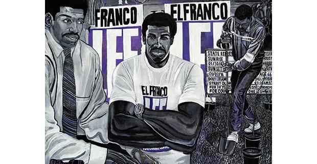 El Franco Lee II- Lee's Congo Barre at Mystic Lyon in Houston October 19 2019