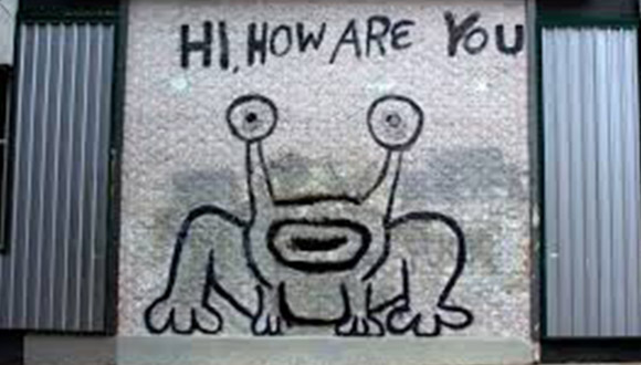 Hi-How-Are-You-Mural-by-daniel-johnston