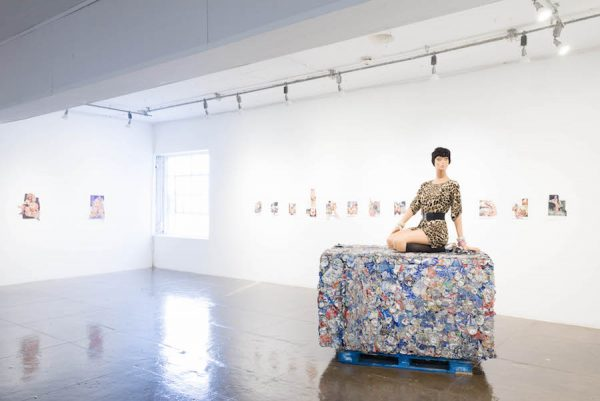 Installation view, Narcissister
