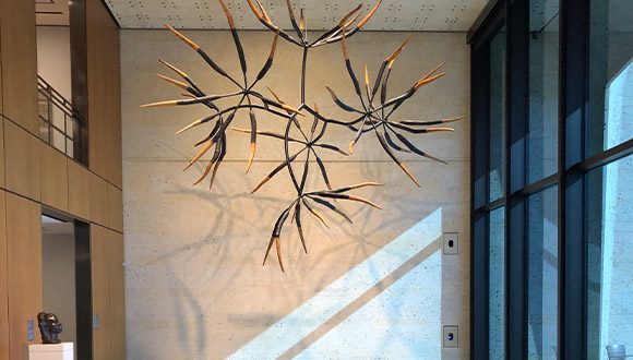 James-Surls-Seven-and-Seven-Flower-at-Amon-Carter-Museum-of American-Art