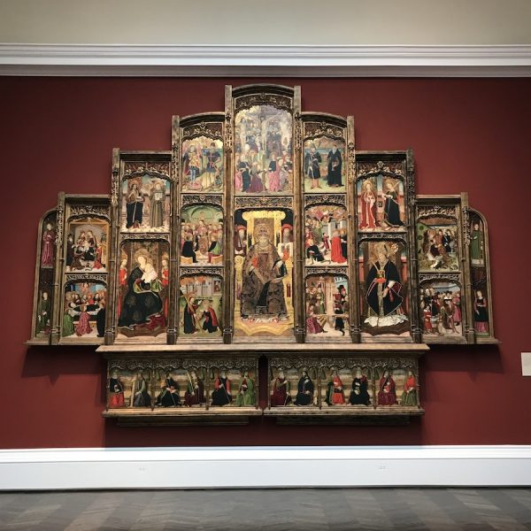 on view at the Meadows, SMU