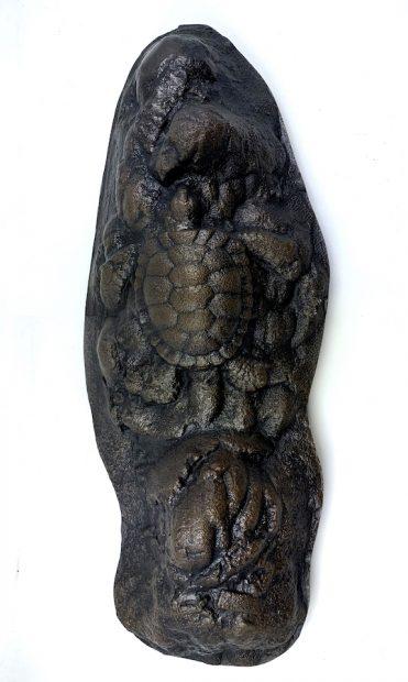 A metalwork piece by Greg Reuter