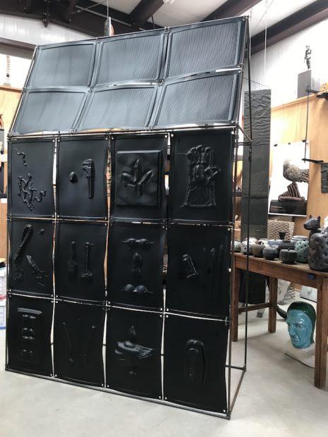 """Greg Reuter's """"Studio"""" (in progress)"""