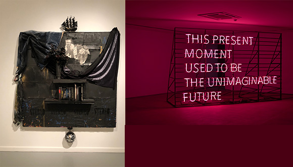 Robert-Hodge-left-and-Alicia-Eggert-at-the-Galleries-at-UTA-September-2019