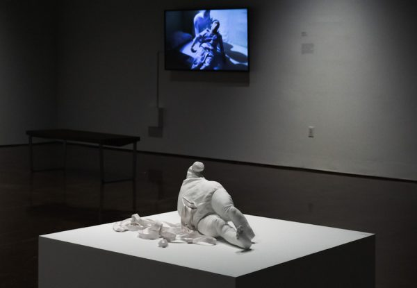 Installation view of Tatiana Istomina's exhibition at TXST Galleries