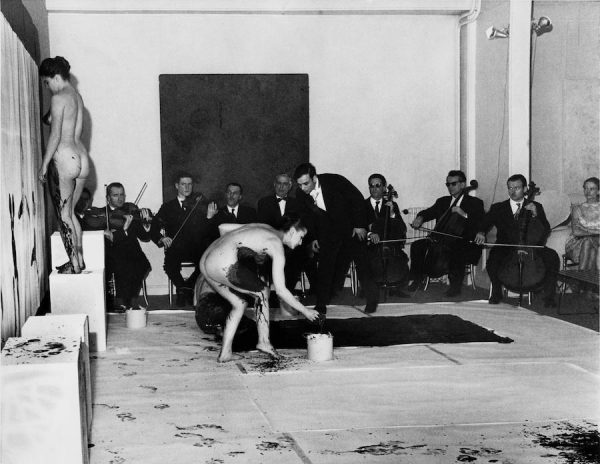 Yves Klein, Anthropometries of the blue period (1960)
