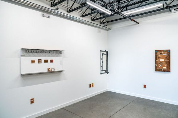 Installation view, Dave Culpepper, That's not going anywhere, Co-Lab Projects, Austin, TX; September 7-28, 2019