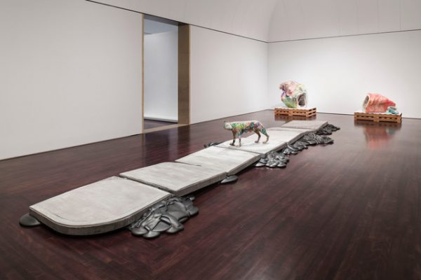 Cox-Richard: She-Wolf + Lower Figs. at the Blanton Museum of Art.
