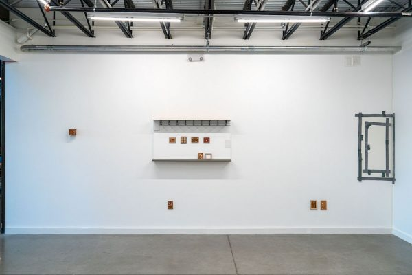 Installation view, Dave Culpepper, That's not going anywhere (2019), Co-Lab Projects, Austin, TX