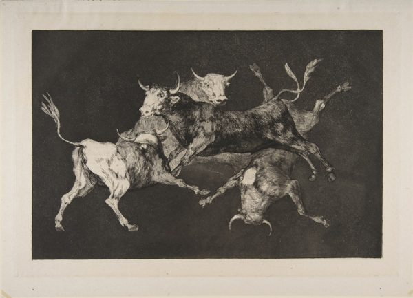 Francisco Goya, Plate D from the Proverbs