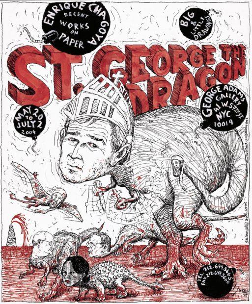 Enrique Chagoya, St. George the Dragon, 2004