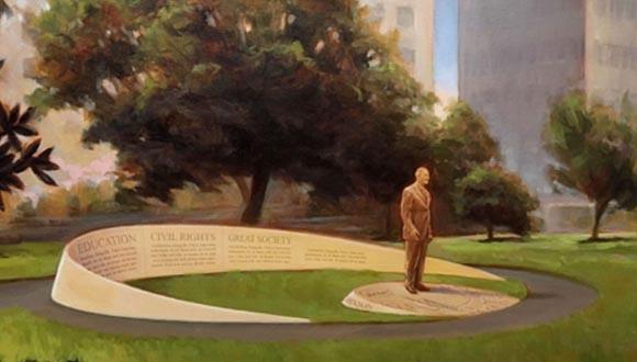 Artist-rendering-of-new-LBJ-monument-in-houston