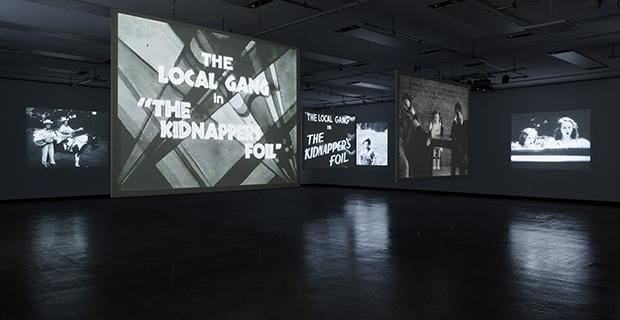 Gareth Long- Kidnappers Foil at Blaffer Art Museum in Houston November 15 2019