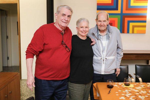 Reid Mitchell, Lisa Barkley, Clint Willour