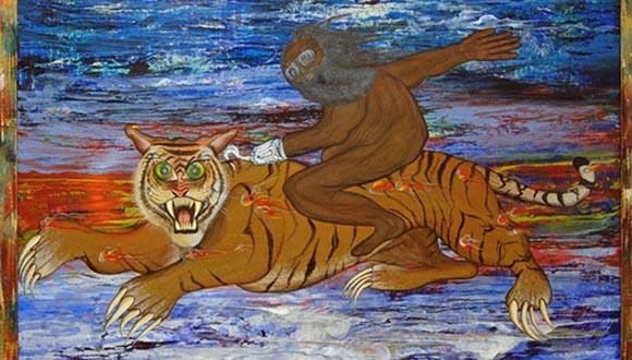 Riding-the-Tiger-The-Art-of-Bert-Long-Jr.-at-HMAAC-in-Houston-October-24-2019