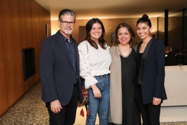 Roberto Tejada, Emily Butts, Edna Butts, Adriana Corral