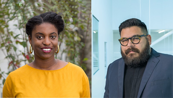 Ryan-N.-Dennis-left-and-Evan-Garza-curators-of-2020-Texas-Biennial