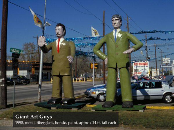 The Art Guys Giant art guys