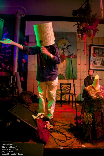 The Art Guys never not funny performance at Notsuoh