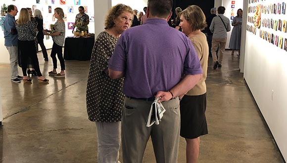 Visitors-at-Nancy-Lambs-exhibition-at-artspace-111-fort-worth