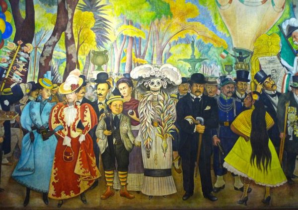 Diego Rivera (1886-1957), A Dream of a Sunday Afternoon in the Alameda Park, 1946-47