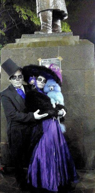 Catrín and Catrina impersonators, 2009