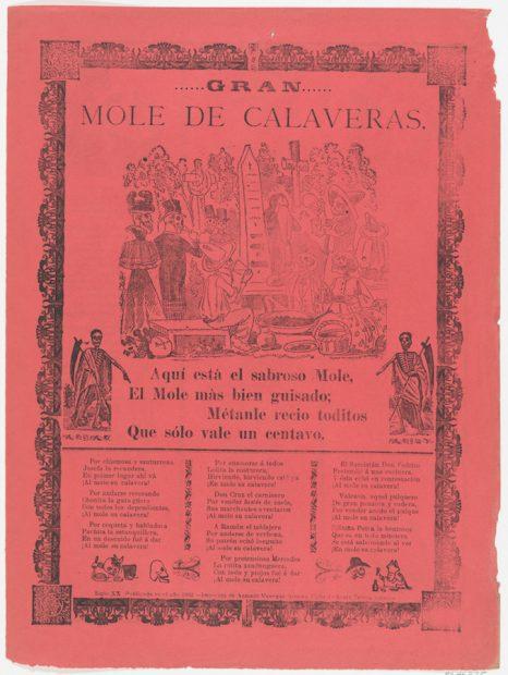 José Guadalupe Posada (1852-1913), Gran Mole de Calaveras, photo-relief etching, 1902