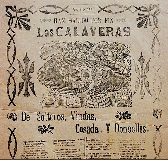 José Guadalupe Posada (1852-1913), Calaveras de la Cucaracha, Una Fiesta en Ultratumba